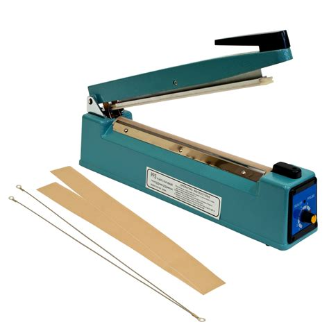 hand impulse sealer heat seal machine poly sealing  element grip