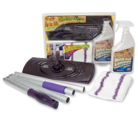 Black Wow Wood Laminate Floor Cleaner by Black Wow Wood And Laminate Floor Cleaning System