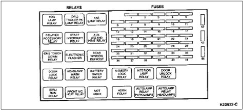 solved    printable image  fuse block  ford