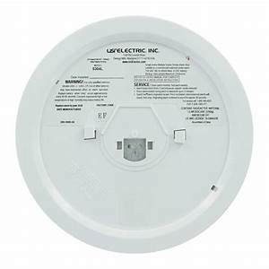Usi 5304l Hardwired Ionization Smoke And Fire Alarm With