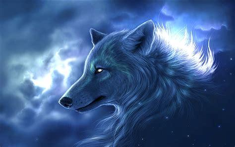 Permalink to Fantasy Wolf Wallpaper Hd