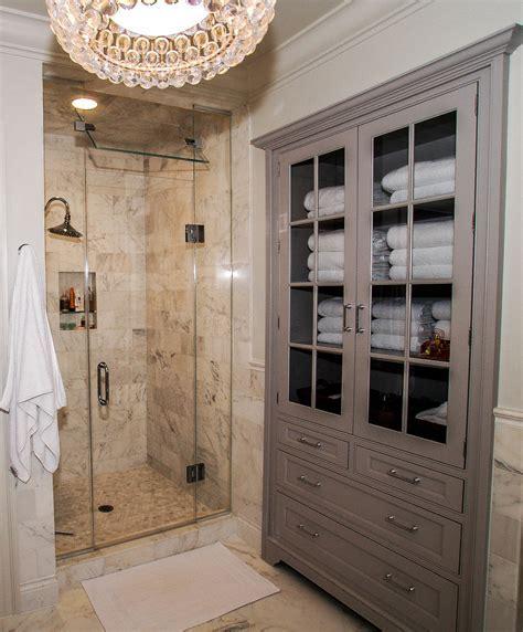 Inspired Linen Closet method Dc Metro Traditional Bathroom