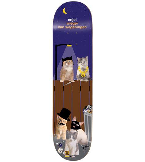 Enjoi Skateboard Decks Ebay by Enjoi Skateboard Deck Cat Series Wieger 8 375 Quot Ebay