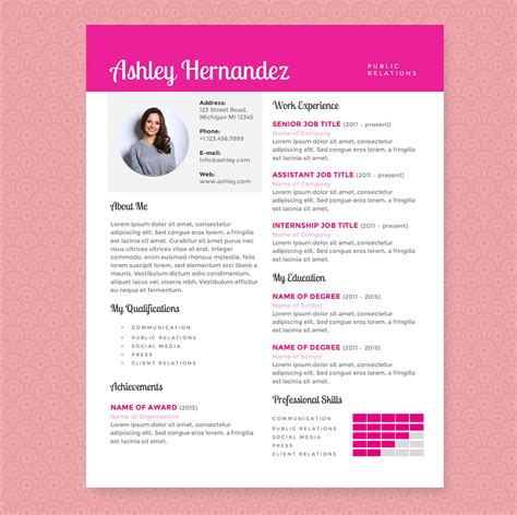modern chronological cv format 2016 2017 resume format 2016