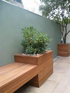 Salon Exterieur En Bois : voici nos exemples pour un banc de jardin ~ Premium-room.com Idées de Décoration