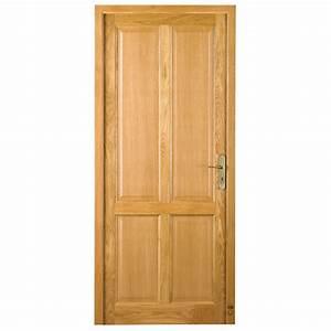 Porte En Bois Intérieur : porte d 39 int rieur bois blois pasquet menuiseries ~ Dailycaller-alerts.com Idées de Décoration