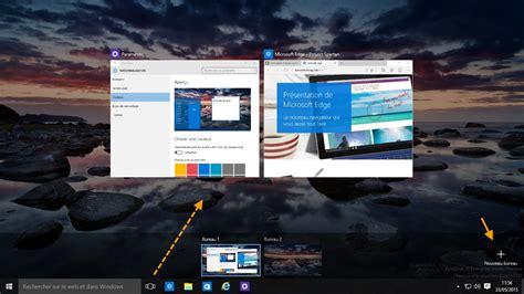 bureaux virtuels windows 10 accès aux applications et bureaux virtuels
