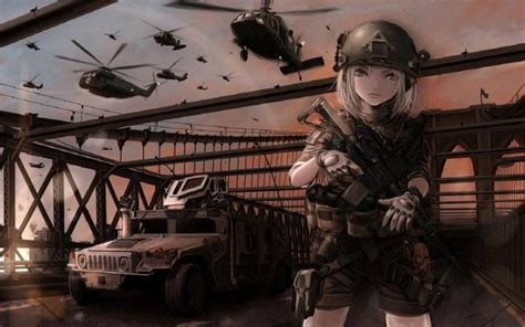 Soldier Anime Wallpaper - original characters anime wallpapers hd