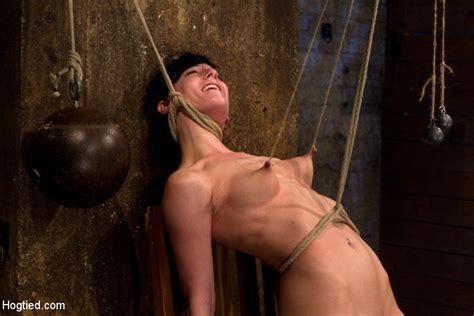 Brutal Nipple Pulling Slow Strangulation Extreme Back