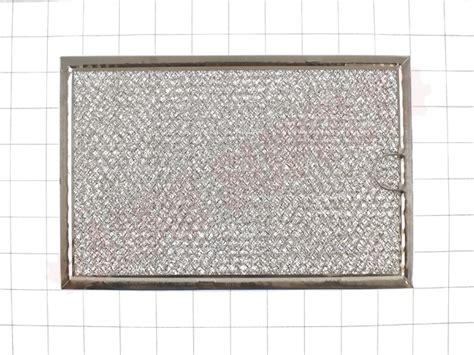 wgf ge microwave range hood aluminum grease