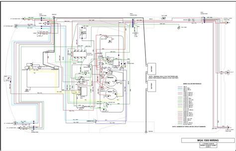 mga wiring diagram wiring help need diagram 1960 mga 1500 mga forum mg