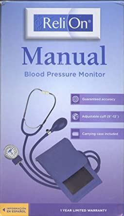 Amazon.com: Reli On Manual Blood Pressure Monitor