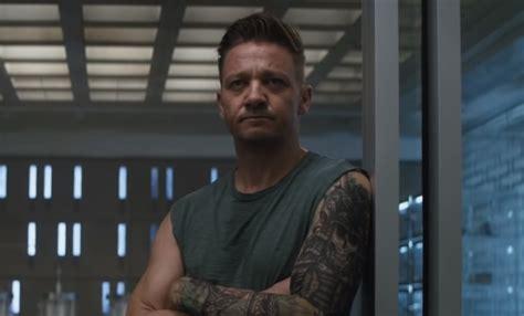 Avengers Endgame Star Jeremy Renner Shares Bts Look