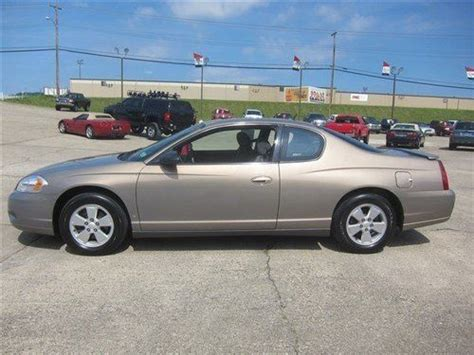 2006 Monte Carlo Lt by Sell Used 2006 Chevrolet Monte Carlo Lt 3 5l In Midway