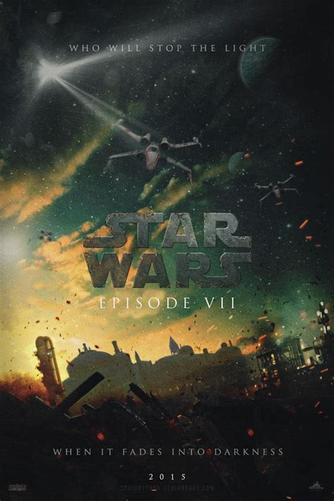 You can even turn your own photo into an art masterpiece with myphotos. 'Star Wars: Episode VII' fan posters look too good to be true (with images, tweets ...