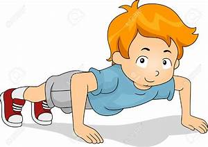 Warm Up Exercises For Kids Clipart - ClipartXtras