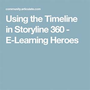 Using The Timeline In Storyline 360