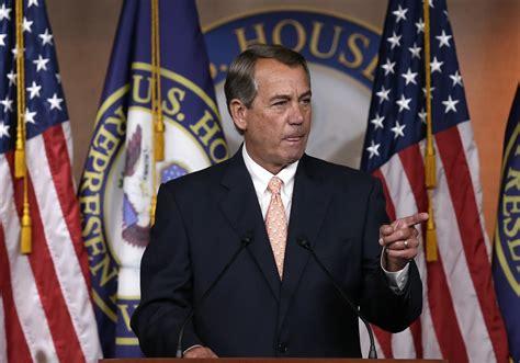 speaker of the house in boehner resigns speaker of house will leave office