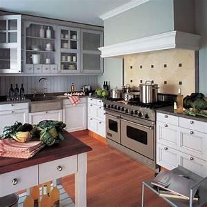 Cuisine : style maison de campagne en bois Côté Maison