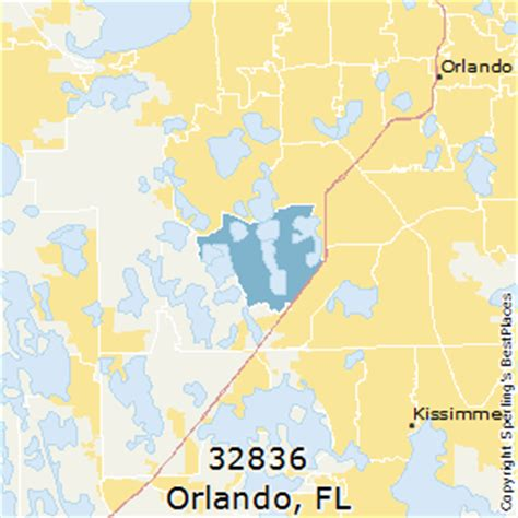 Best Places To Live In Orlando (zip 32836), Florida