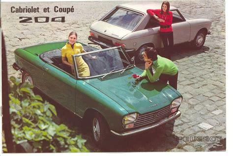 Peugeot 204/304 Coupé et cabriolet: parfum de nostalgie ...