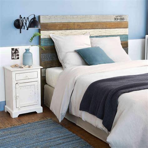 Ikea nordli cadre de litrangementtete de lit 160x200 cm les 6 grands tiroirs caches sous le lit cachent un bel espace de rangement ideal pour ranger des. Tête de lit 160 en lattes de manguier Sailor | Maisons du Monde
