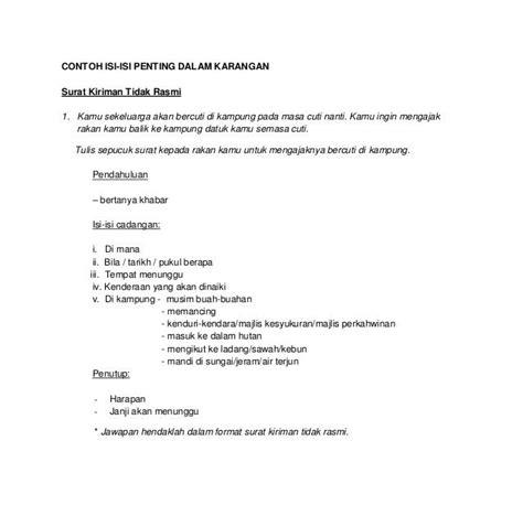 format surat rasmi cuti kerja lebih format surat rasmi