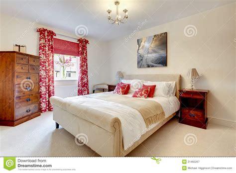 belles chambres à coucher chambre à coucher moderne photographie stock libre