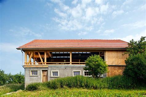 architektenhaeuser umgebaute scheune schoener wohnen