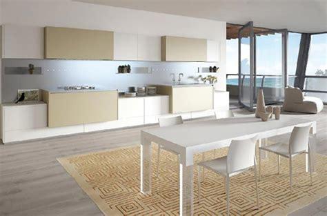 cuisine minimaliste cuisine minimaliste au design contemporain en blanc