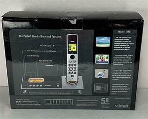 Vtech I5871 5 8 Ghz Single Line Cordless Phone W   Box