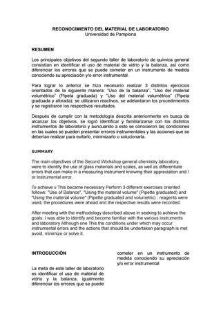 los materiales de laboratorio monografias resumen de app co