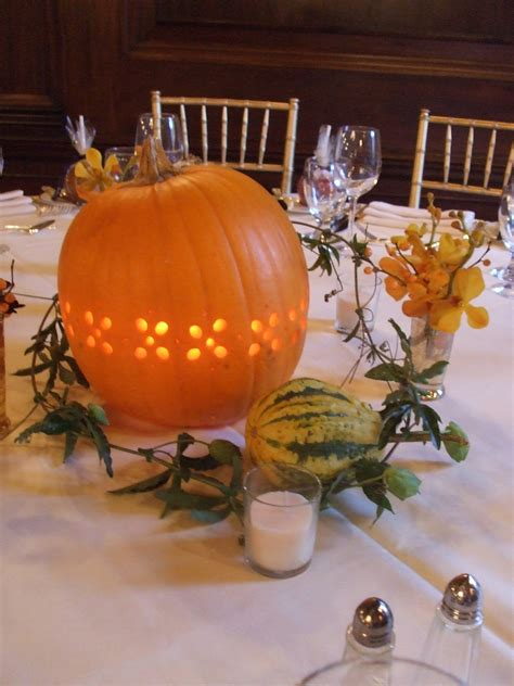 Fall Wedding Decorations With Pumpkins For Unique Wedding