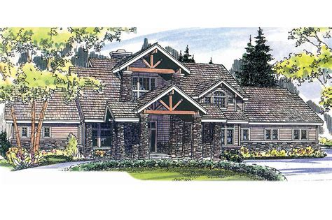 mountain lodge house plans lodge style house plans