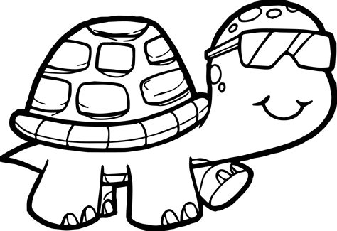 Turtle Coloring Sheets Acpra