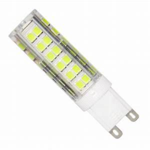Taille Ampoule G9 : ampoule led g9 smd2835 7w 220v 75led 360 ~ Edinachiropracticcenter.com Idées de Décoration