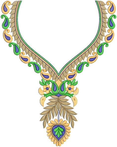 embroidery designs for embdesigntube surti embroidered neck 2012 by