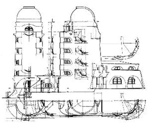 grundriss schnitt ansicht einsteinturm potsdam