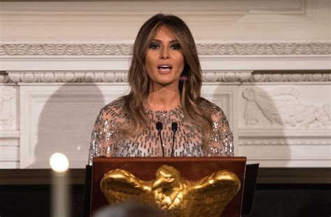 Melania Trump Used As Promotional Tactic For English