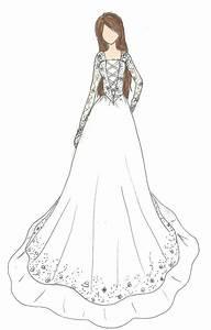 Wedding Dress Design by KikNessa on DeviantArt