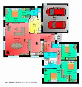 plans maison plans pinterest plans maison plans et With plan maison gratuit 3d 7 maison americaine