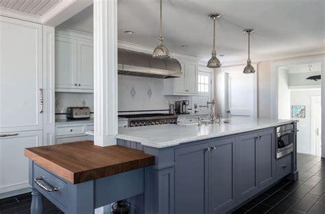 Blue Countertop Kitchen Ideas by 27 Blue Kitchen Ideas Pictures Of Decor Paint Cabinet