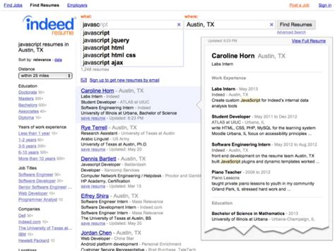 Indeed Resume Search by Indeedeng Building Indeed Resume Search