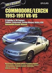 Holden Vr V8 Commodore Workshop Manual