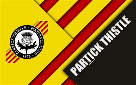 Download wallpapers Partick Thistle FC, 4k, material ...