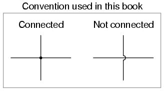 wires and connections circuit schematic symbols