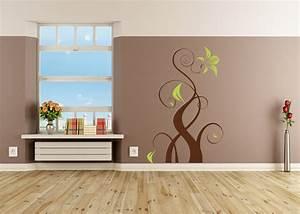 Wandtattoo Für Wohnzimmer : wandtattoo f r das wohnzimmer zweifarbig ~ Buech-reservation.com Haus und Dekorationen
