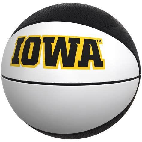 college iowa hawkeyes official size autograph basketball