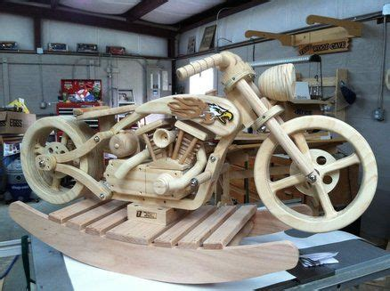 wooden motorcycle rocker images  pinterest wood toys wooden toys  woodworking