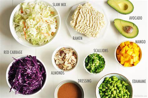 crunchy ramen salad  chic site